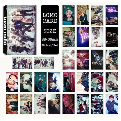 Lot of & KPOP Bangtan Boys Personal Collective Poster Photo Card Lomo Cards 4