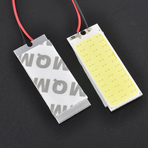 2 X 12V Xenon HID White 36-COB LED Dome Map Light Bulbs Car Interior Panel Lamps 11