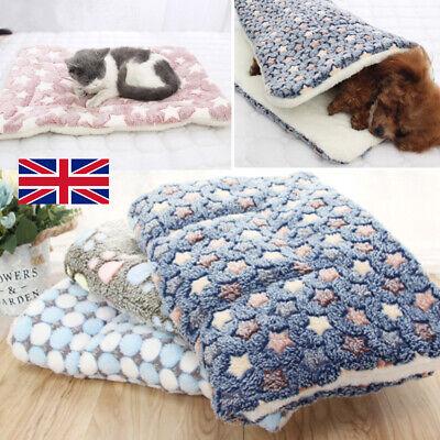 Autumn Winter Pet Home Blanket Cat Dog Bed Mattress Kennel Large Soft Crate Mat 2