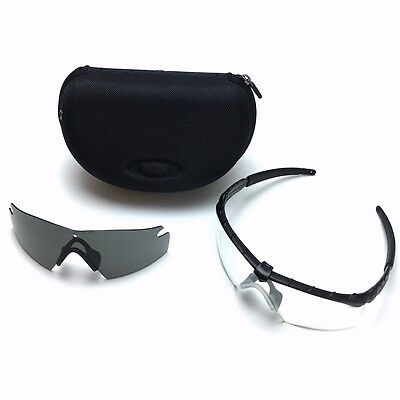5e4e7a4628c ... Authentic Oakley SI Ballistic M Frame 2.0 Military Safety Shooting  Glasses Kit 3