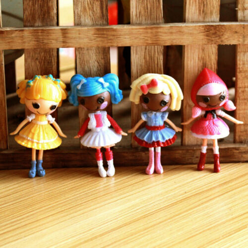 774262bba6c03 Lot of 8pcs Cute Mini Lalaloopsy Dolls Cute Small Toys Home Decor  Collections 5 5 of 11 ...