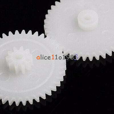 58 style Plastic Gears All The Module 0.5  Robot Part for DIY Car Model HM Shaft