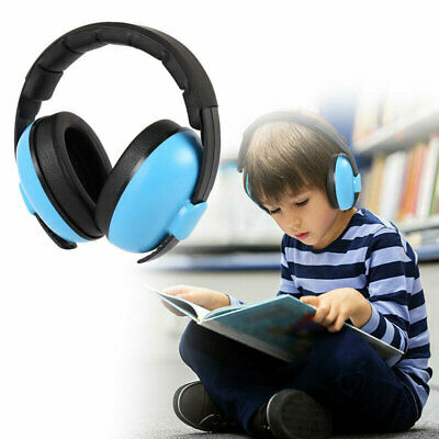 Kids Baby Folding Ear Defenders Noise Reduction Protectors Children Adjustable 2