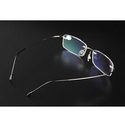 a1f9e8872d985 ... Rimless Glasses Rx Optical Eyeglasses Memory Titanium Spectacles  FrameBest 5