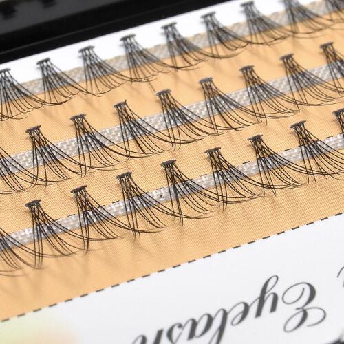 6470dadbeb3 6/8/10/12mm Natural Makeup Individual Eye Lashes Extension False Eyelash  Cluster 3 3 of 10 ...