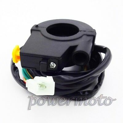 Kill Switch Throttle Housing For Gas Goped Scooter Pocket Bike Motorized Bicycle