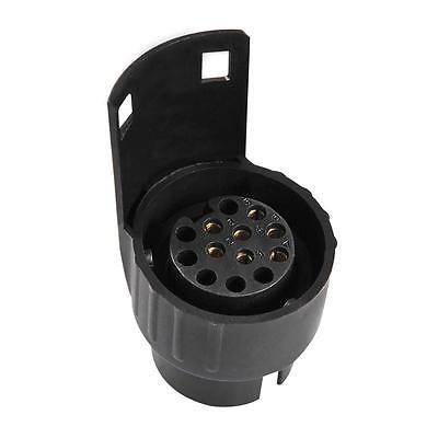 KFZ Adapter von 7-polig (Fahrzeug) auf 13-polig (Anhänger) PKW kurze Ausführung 5