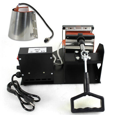 2in1 Station Mug Cup Heat Press Machine Sublimation For 11OZ 12OZ 8
