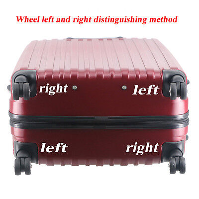 1Pair Replacement Luggage Suitcase Wheels Swivel Universal Wheel For Any Bags 5
