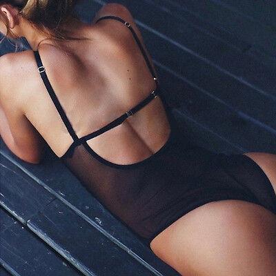lingerie lacets Nuisette Femmes sous-vêtement PYJAMA BODY nuit pièce unique
