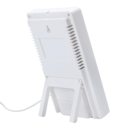 Indoor/Outdoor Thermometer Digital LCD Hygrometer Meter Temperature Humidity  IU 10