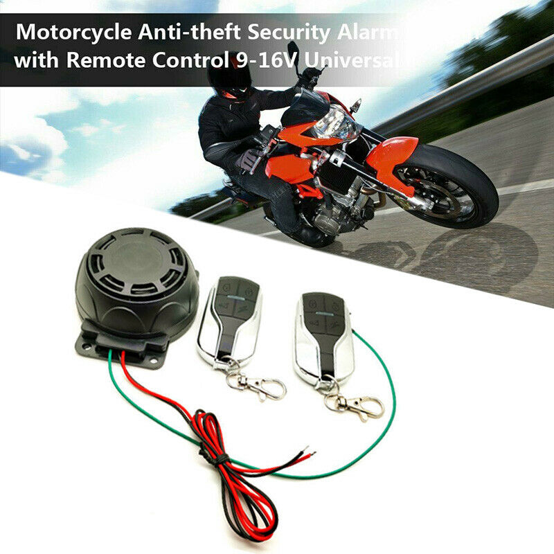 Motorcycle Bike Alarm System Anti-theft Security Remote Engine StartImmobili BSC 2