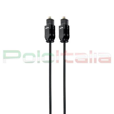 Cavo da 0,5 a 20m audio TOSLINK ottico digitale spdif in fibra optical cable tv 3