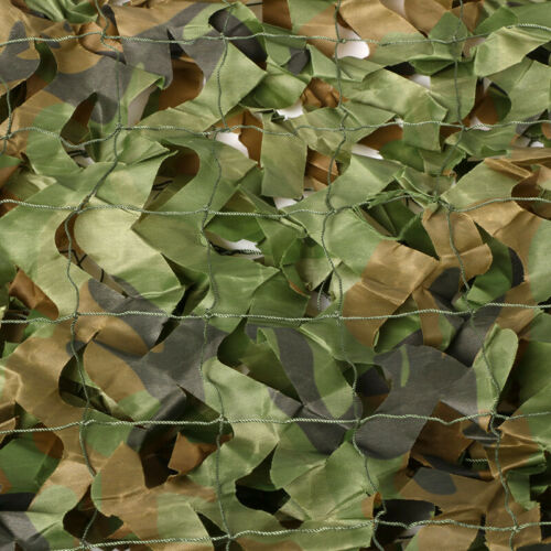 Camouflage Net Camo Hunting Shooting Hide Army Camping Woodland Netting 5M x1.5M 8