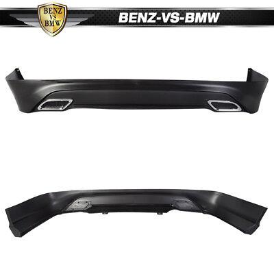 Fit For 13-17 Nissan Sentra Rear Bumper Lip Splitter Spoiler Kit PP OE Style 5