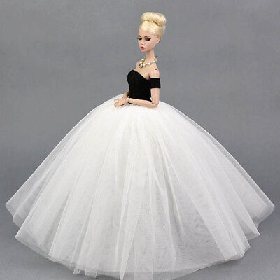 """Doll Dress Costume Elegant Lady Wedding Dress For 11.5"""" Doll Clothes Outfits Toy 7"""