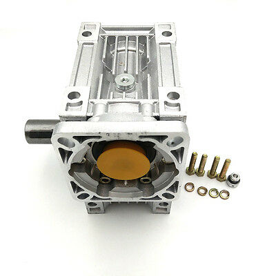 NMRV050 Worm Gearbox Geared Ratio 10:1 Speed Reducer for Stepper Motor 6