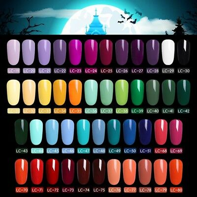 51 Couleur Multiple UV Gel Nail Art Semi Permanent Vernis à ongles LILYCUTE 5ML 3