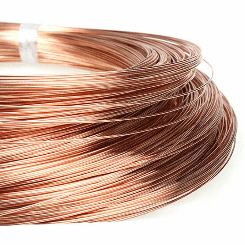 2.5mm Stärke Kupferdraht Spule Drahtwerk Tiara Perlung Schmuckherstellung