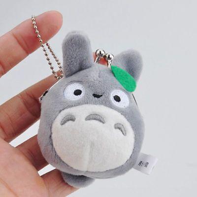 Studio Ghibli My Neighbor Totoro Left Plush Doll Toy Mini Holder Coin Bag Gift 3