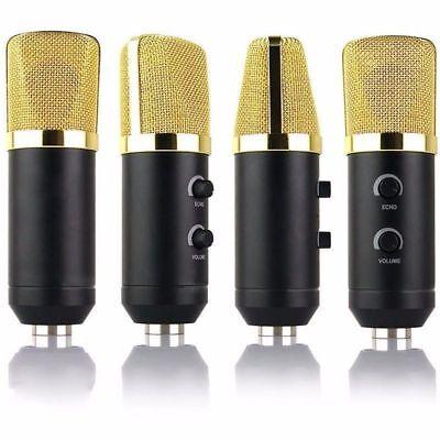 USB Condenser Microphone Sound Recording Audio Studio Brocasting w/ Tripod Stand 9