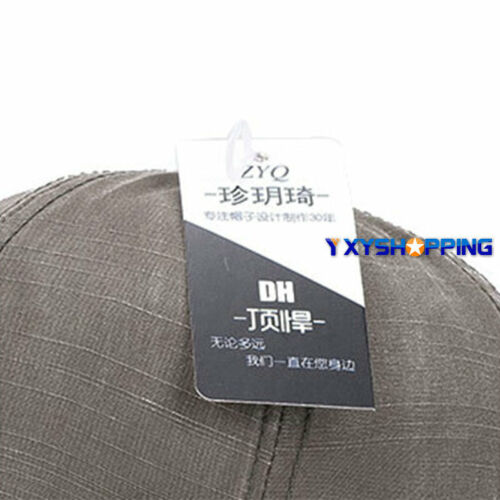 Unisex Retro Men Plain Classic Baseball Caps Peaked Stonewash Casual Sports Hats 4