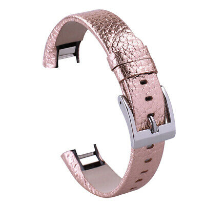 For Fitbit Alta / Alta HR Genuine Leather Watch Replacement Band Wrist Strap UK 8
