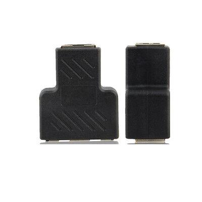 1 à 2 LAN Ethernet réseau RJ45 répartiteur prolongateur connecteur adaptateur~PL 2