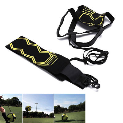 Football Self Training Kick Practice Trainer Aid Equipment Waist Belt Returner 8