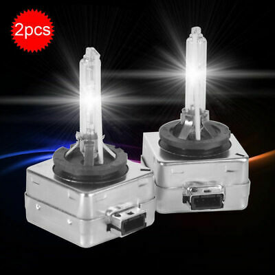 2x 35W D1S Ampoule HID Blanc Pur Xenon Aluminium Phare Cob Voiture 6000K Kit 12V 4