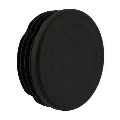 Fusskappe Fußstopfen Gewindestopfen Ø 40mm M10 rund schwarz für XL-Wandstärke !