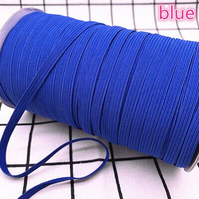 5yds 6mm Hight Elastic Bands Spool Sewing Band Flat Elastic Cord diy Sewmaterial 6
