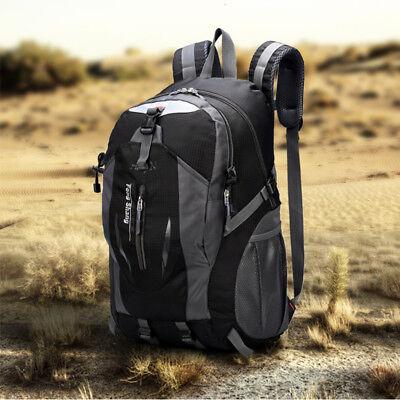 Men's Waterproof Backpack Rucksack Hiking Camping Trekking Bag School Bag Pack 8