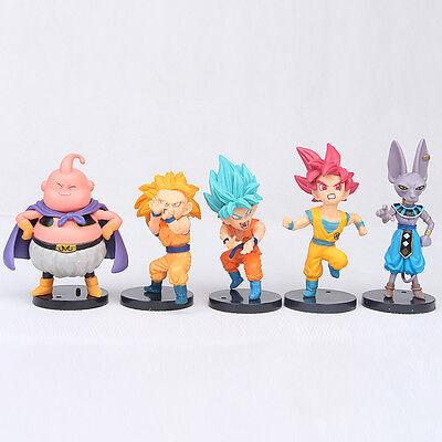 4 Of 7 10pcs Dragon Ball Z Anime Figure Toys Set Collection Playset Kids Birthday Gifts