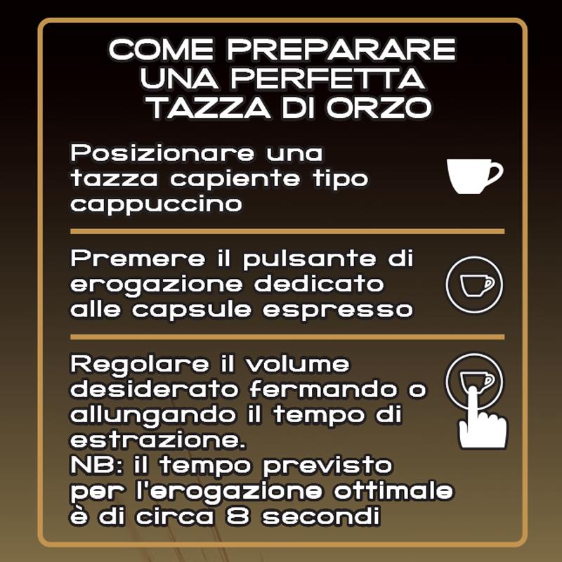 108 Capsule Iperespresso 6 Confezioni Da 18 Aroma Orzo Bevanda Illy Caffe' 2