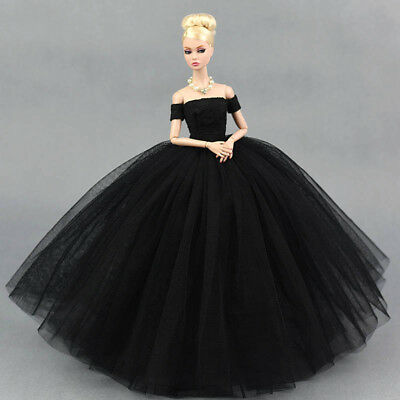 """Doll Dress Costume Elegant Lady Wedding Dress For 11.5"""" Doll Clothes Outfits Toy 5"""