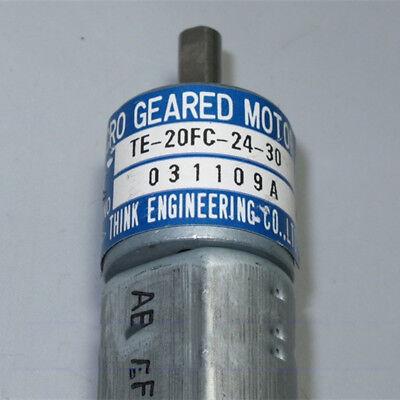 THINK DC12V-24V 350RPM mini 20mm Full Metal Gearbox Gear motor Reducer DIY Robot 8