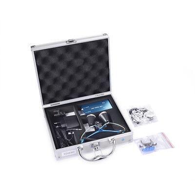3.5X 420mm Dental LED Headlight Lamp+ Dental Surgical Medical Binocular Loupe 2