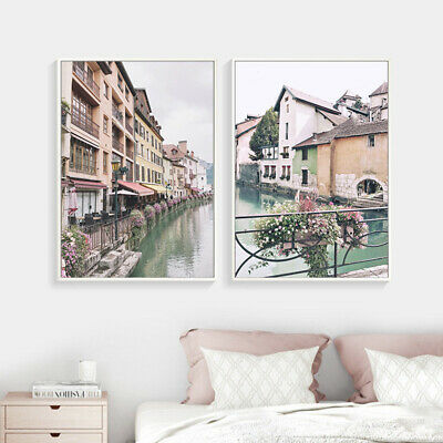 Scandinavian Wall Art Canvas Poster Nordic Scenery Print Home Decoration Picture 3