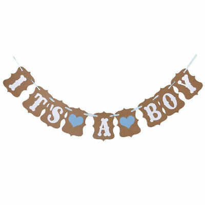 Baby Shower Boy Girl Decorations Set Sashes Balloon Bunting Photo Props Pompoms 10
