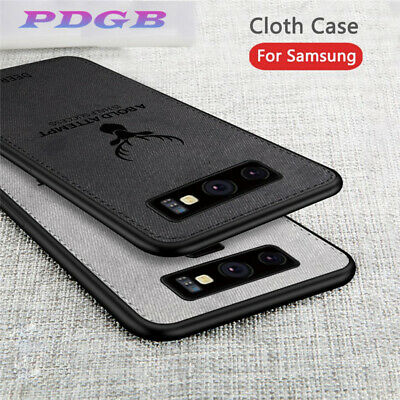 For Samsung Galaxy S10 Plus Note10 Case Hybrid Soft TPU Leather Matte Back Cover 3