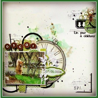 Romantic Mini French Words Cutting Dies Stencil Scrapbook album Embossing Card 6