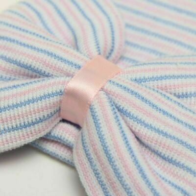 Newborn Baby Girl Big Bow Beanie Hat Cap Boy Cotton Headband Kids Hair Accessory 5