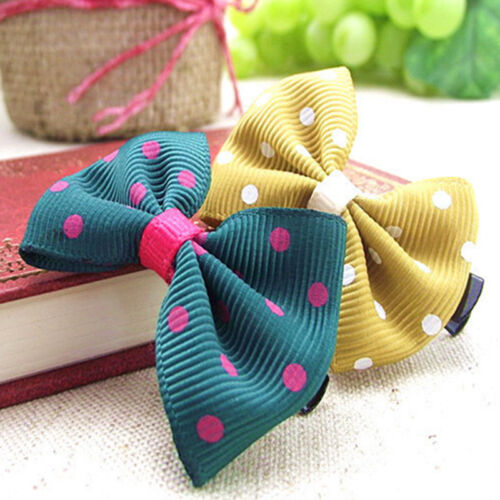 10PCS Bows Snaps Hair Clip Girls Baby Kids Hair Accessories Alligator Clips Gift 5