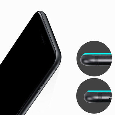 For iPhone X XS Max XR 7 8 Plus Full Coverage Tempered Glass Screen Protector /s 8