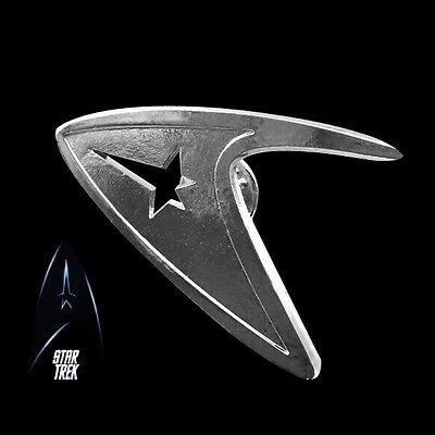 Star Trek Logo Metal Pin brooch Silver color Collectible gift decor cosplay 6