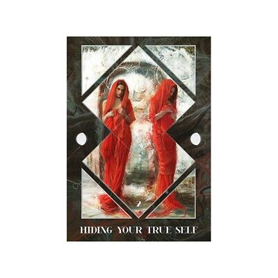 Dark Mirror Oracle Card Deck Laura Swa Lo Scarabeo New 3