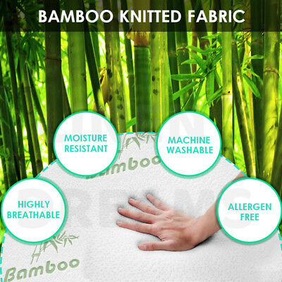 Aus Made Bamboo Body Pillow Full Maternity Pregnancy Nursing Support Pillow