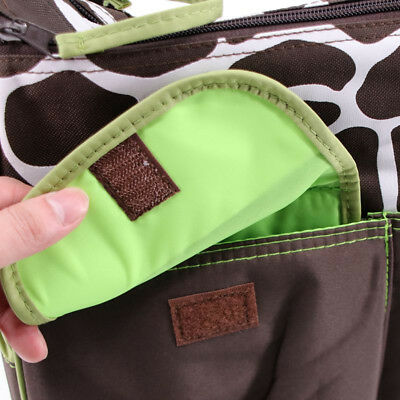 AU4 styles Baby Diaper Nappy Mummy Changing Handbag Shoulder Bag with Mat Travel 8