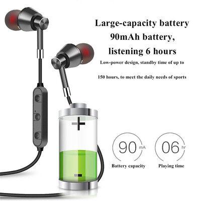 Wireless Bluetooth Sweatproof Headphones Sport Earphones Stereo Headset With Mic 8